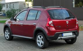 Rent a car Sandero